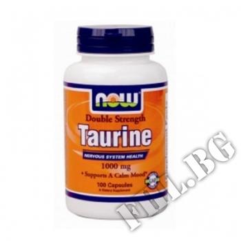 Действие на Taurine 1000 мг - 100 капсули  мнения.Най-ниска цена от Fhl.bg-хранителни добавки София