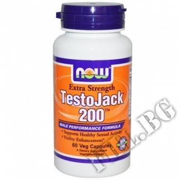 Действие на Test Jack 200 Extra Strength  мнения.Най-ниска цена от Fhl.bg-хранителни добавки София