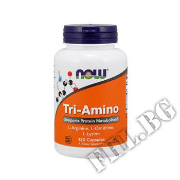 Действие на Tri-Amino Arginine/Ornitine/Lysine 120 caps мнения.Най-ниска цена от Fhl.bg-хранителни добавки София