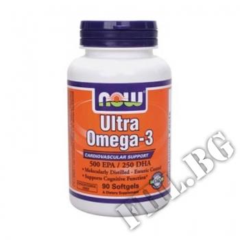 Съдържание » Цена » Прием »  Now Ultra Omega 3 90 softgels