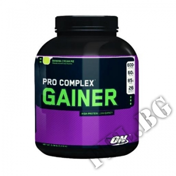 Съдържание » Цена » Прием » Pro Complex Gainer - 4612 г Ванилия