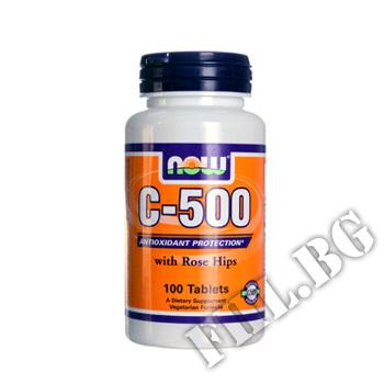 Съдържание » Цена » Прием »  Vitamin C 500 mg with Rose Hips