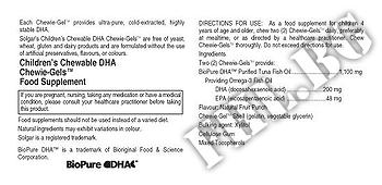 Съдържание » Дозировка » Прием » Как се пие » Solgar lit'l squirt Children's Chewable DHA Chewie-Gels » Solgar » Формули за Деца