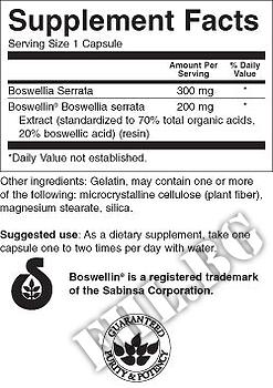 Съдържание » Дозировка » Прием » Как се пие »  Boswellia Serrata » Swanson » Стави и сухожилия