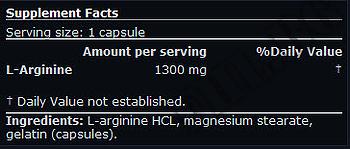 Съдържание » Дозировка » Прием » Как се пие »  Mega Arginine 90 caps » Scitec » Аргинин