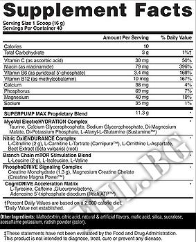 Съдържание » Дозировка » Прием » Как се пие »  Superpump max  » Gaspari Nutrition » Азотни бустери
