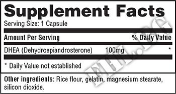 Съдържание » Дозировка » Прием » Как се пие » DHEA 100 mg 60 Caps » Haya labs » ДХЕА