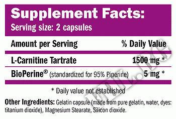 Съдържание » Дозировка » Прием » Как се пие »  CarniLine L-Carnitine Bioperine  » AMIX » Л-карнитин