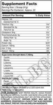 Съдържание » Дозировка » Прием » Как се пие » 100% Ultra-Premium Isolate-шоколад » MuscleTech »   Суроватъчен изолат