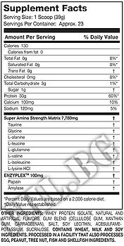 Съдържание » Дозировка » Прием » Как се пие » 100% Ultra-Premium Isolate-ванилия » MuscleTech »   Суроватъчен изолат