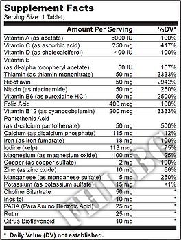 Съдържание » Дозировка » Прием » Как се пие » Vitabolic » BioTech USA » Мултивитамини