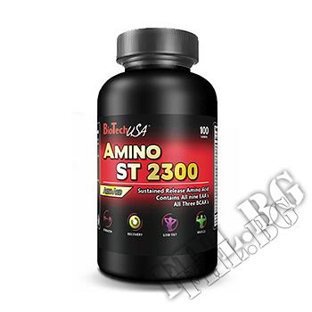 Съдържание » Дозировка » Прием » Как се пие » Amino ST 2300 325 tab » BioTech USA » Комплексни аминокиселини