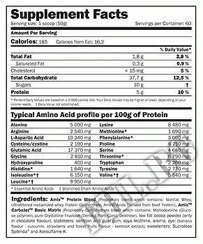 Съдържание » Дозировка » Прием » Как се пие » 100% Predator Protein 1000гр » AMIX » Суроватъчен протеин