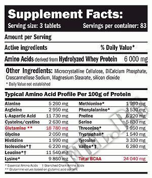 Съдържание » Дозировка » Прием » Как се пие » Amino HYDRO-32 250tab » AMIX » Суроватъчни аминокиселини