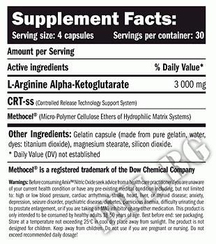 Съдържание » Дозировка » Прием » Как се пие » Nitric Oxide 750mg. / 360 Caps.  » AMIX » Азотни бустери