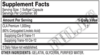 Съдържание » Дозировка » Прием » Как се пие » 100% Ultra-Premium CLA  » MuscleTech » Фет блокери CLA