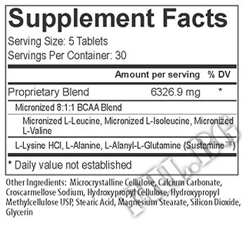 Съдържание » Дозировка » Прием » Как се пие » Modern BCAA + Tabs » USP Labs » BCAA