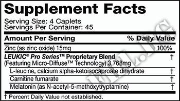 Съдържание » Дозировка » Прием » Как се пие » Leukic Pro Series » MuscleTech » Сила и издръжливост