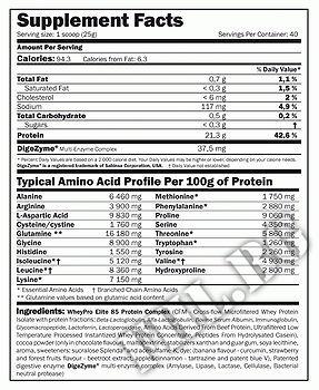 Съдържание » Дозировка » Прием » Как се пие » WheyPro Elite 85 » AMIX » Протеинова матрица