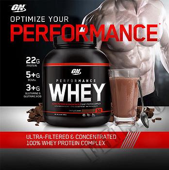 Съдържание » Дозировка » Прием » Как се пие » 100 % Performance-whey-ванилия » Optimum Nutrition » Суроватъчен протеин