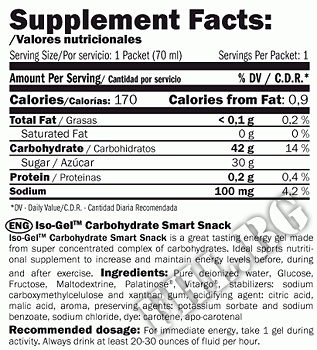 Съдържание » Дозировка » Прием » Как се пие » IsoGEL Carbo-Smart Snack » AMIX » Енергийни Шотове и Гелове