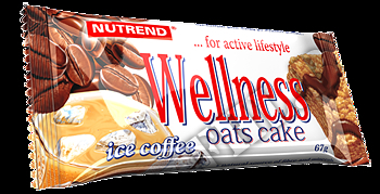 Съдържание » Дозировка » Прием » Как се пие » WELLNESS OATS CAKE  » Nutrend » Заместител на храна