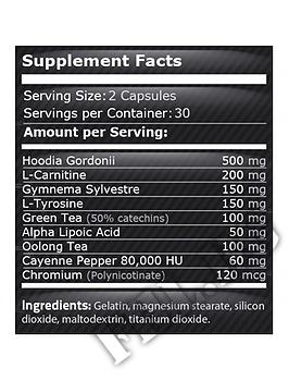 Съдържание » Дозировка » Прием » Как се пие »  Herbal Burn 60caps » Pure Nutrition » Липотропни фетбърнъри