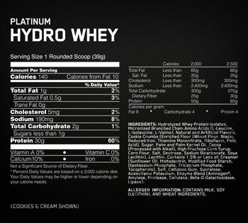 Съдържание » Дозировка » Прием » Как се пие »  Hydro Whey 3.5 lbs » Optimum Nutrition »   Суроватъчен изолат