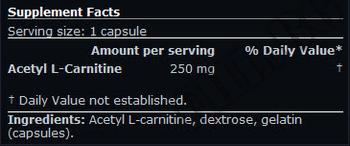 Съдържание » Дозировка » Прием » Как се пие » Acetyl L-Carnitine SN » Scitec » Ацетил L-карнитин (ALC)