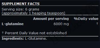 Съдържание » Дозировка » Прием » Как се пие »  L-Glutamine SN 300gr » Scitec » Глутамин