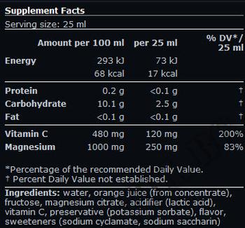 Съдържание » Дозировка » Прием » Как се пие »  Liquid Magnesium » Scitec » Магнезий