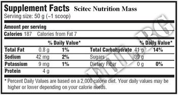 Съдържание » Дозировка » Прием » Как се пие »  Mass 4500g » Scitec » Качване на мускулна маса