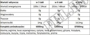 Съдържание » Дозировка » Прием » Как се пие » MEX Аминокиселини 12K » Mex Nutrition » Телешки аминокиселини