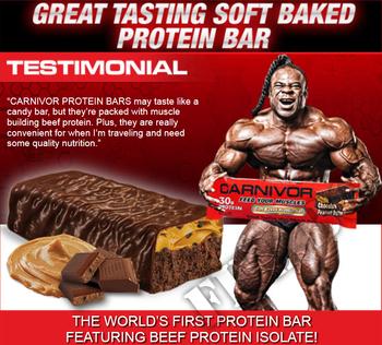 Съдържание » Дозировка » Прием » Как се пие » Carnivor protein bar кутия » MuscleMeds » Протеинови Барове