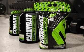 Съдържание » Дозировка » Прием » Как се пие »  Combat powder 10 lbs » MusclePharm » Протеинова матрица