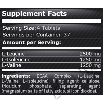 Съдържание » Дозировка » Прием » Как се пие »  BCAA 5000 150tab » Pure Nutrition » BCAA
