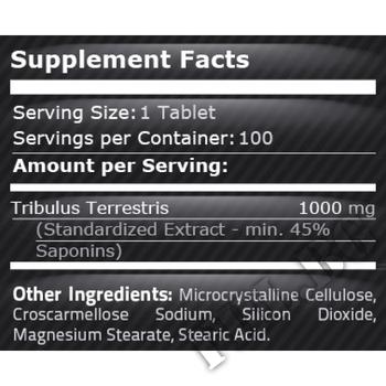 Съдържание » Дозировка » Прием » Как се пие » Tribulus Terrestris-1000 мг-200 таблетки » Pure Nutrition » Трибулус Терестрис