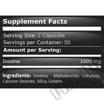 Съдържание » Дозировка » Прием » Как се пие » Pure Inosine » Pure Nutrition » Инозин