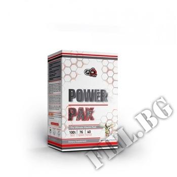 Съдържание » Дозировка » Прием » Как се пие » Power pak 20 пакета » Pure Nutrition » Мултивитамини
