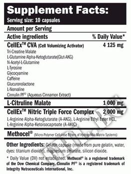Съдържание » Дозировка » Прием » Как се пие » CellEx 120 Caps » AMIX » Азотни бустери