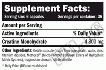 Съдържание » Дозировка » Прием » Как се пие » Creatine Monohydrate 800mg 220 Caps » AMIX » Креатин