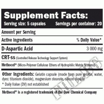 Съдържание » Дозировка » Прием » Как се пие » D-AA D-Aspartic Acid » AMIX » D-аспарагинова киселина