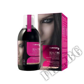 Съдържание » Дозировка » Прием » Как се пие » Beauty collagen-ягода-ванилия » Myelements » Колаген