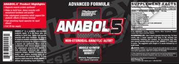 Съдържание » Дозировка » Прием » Как се пие » Anabol 5 » Nutrex » Формули за мъже