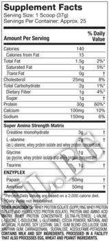 Съдържание » Дозировка » Прием » Как се пие » Nitrotech Performance Series 2lbs-ягода » MuscleTech »   Суроватъчен изолат