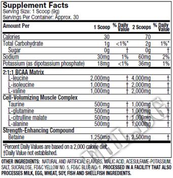 Съдържание » Дозировка » Прием » Как се пие » Muscletech amino build » MuscleTech » Аминокиселини