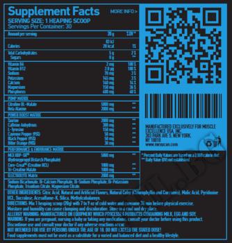Съдържание » Дозировка » Прием » Как се пие » NOX Pro 30 Serv » Mex Nutrition » Азотни бустери