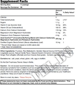 Съдържание » Дозировка » Прием » Как се пие » Acid Comfort - Добавка за Стомашни Киселини » Now Foods » Храносмилане ензими и пробиотици