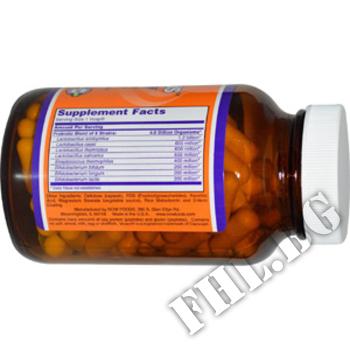 Съдържание » Дозировка » Прием » Как се пие »  Gr8-Dophilus » Now Foods » Храносмилане ензими и пробиотици