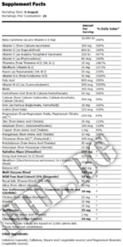 Съдържание » Дозировка » Прием » Как се пие » Eve Women's Vitamins - 120 caps » Now Foods » Мултивитамини